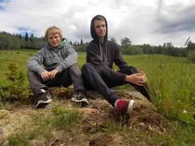 Michael & Joey